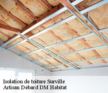 Isolation de toiture  surville-50250 Artisan Debard DM Habitat